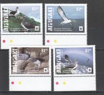 W786 2016 AITUTAKI WWF FAUNA BIRDS CHATHAM ALBATROSS !!! MICHEL 13 EURO !!! 1SET MNH - W.W.F.