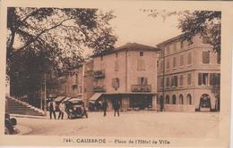 CAUSSADE  Place De  L'Hôtel De Ville - Caussade