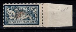 YV 123 Merson N** Bleu Noir , Correctement Centré , 1 Mini Eclat De Gomme Sinon LUXE Cote 325 Euros +centrage +couleur - France