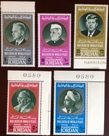 Jordan 1967 Builders Of World Peace 1st Series MNH - Jordanie