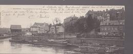 Morbihan - Hennebont - Peniches, Chargement De Bois, Bretagne Panoramique Vieux Bourg - Hennebont