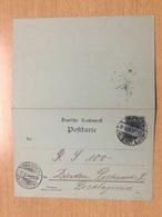 K6 Deutsches Reich Ganzsache Stationery Entier Postal P 41II Ortskarte Von Dresden - Deutschland