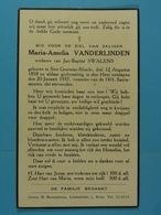 Maria Venderlinden Vve Swalens Sint-Genesius-Rhode 1858 1937 - Images Religieuses