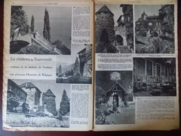 Documentation De Presse // Le Château De Tourronde , Résidence De La Duchesse De Vendôme - Vieux Papiers