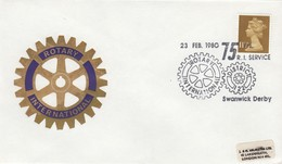 GREAT BRITAIN. ROTARY.  FDC. 1980 - Rotary, Lions Club
