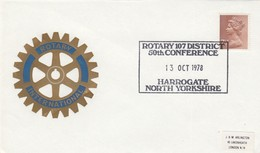 GREAT BRITAIN. ROTARY.  FDC. 1978 - Rotary, Lions Club