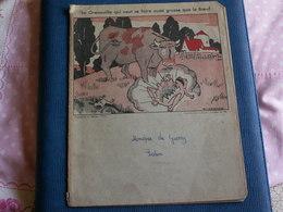 PROTEGE  CAHIER  //  Fable De La Fontaine - Buvards, Protège-cahiers Illustrés