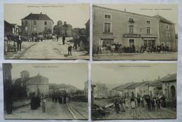 LOT 4 CARTES POSTALES SENAIDE (88) - France