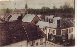 204 H  CPA  Vue Panoramique épicerie Deliancourt Carte Bon état - Sissonne