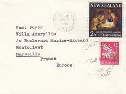 COVER. NEW ZELAND. 27 OCT 70. WELLIGTON TO FRANCE - Nouvelle-Zélande