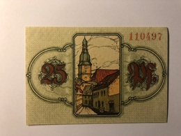 Allemagne Notgeld Allemagne Wunfiedel 25 Pfennig - [ 3] 1918-1933 : République De Weimar