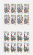 République Tchèque 1997 - MNH ** - Europa - Légendes - 2 Feuillets Michel Nr. 144-145 Série Complète (cze007) - Tchéquie