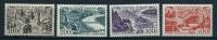 """FR Aerien YT 24 à 27 (PA) """" Vues De Grandes Villes """" 1949 Neuf* - 1927-1959 Mint/hinged"""