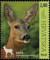 2015 Croatian Fauna, Roe Deer, Croatia, Hrvatska, MNH - Croatie