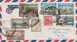 COVER. NEW ZELAND. 12 NOV 64. BLENHEIM TO DOUALA CAMEROUN - Nouvelle-Zélande