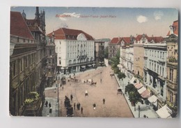 Poland - BYTOM (Beuthen) - Kaiser Franz Josef Platz - Pologne - Colorisée - Animée - Poland