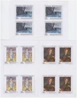 République Tchèque 2002 - MNH ** - Peinture - 3 Feuillets Michel Nr. 342-344 Série Complète (cze015) - Tchéquie