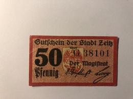 Allemagne Notgeld Allemagne Zeitz 50 Pfennig - [ 3] 1918-1933 : République De Weimar