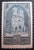 R1692/408 - 1929 - CATHEDRALE DE REIMS - N°259 (III) NEUF* - LUXE - Cote : 460,00 € - France