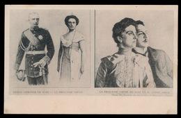 PRINCE HERITIER DE SAXE LA PRINCESSZ LOUISE & M.ANDRE GIRON - Familles Royales