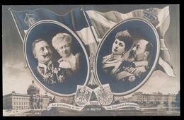 ZUR ERINNERUNG AN DEN BESUCH DES ENGLISCHEN KÖNIGSPAARES - Familles Royales