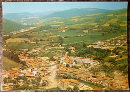 PONTCHARRA SUR TURDINE (69).VUE AERIENNE GENERALE.1988. - Pontcharra-sur-Turdine
