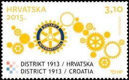 2015 Rotary District 1913, Croatia, Hrvatska, MNH - Croatie