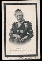 ROUWKAART  KAISERIN FRIEDRICH  - GEB.21 NOV 1840 - GEST. 5 AUG 1901 - Familles Royales