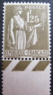 R1692/411 - 1932 - TYPE PAIX - N°287 NEUF** BdF BON CENTRAGE - Cote : 215,00 € - France