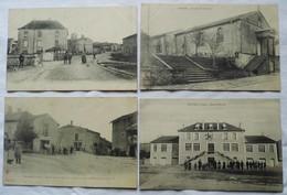 LOT 4 CARTES POSTALES DE SENAIDE (88) - France