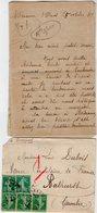 VP13.612 - 1919 - Lettre De Mme L. DUBOIS à VILLENEUVE D'OLMES Pour Mr DUBOIS à BATHURST ( Gambie ) - Récit - Manoscritti
