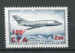 10101 REUNION PA 61**  100 F S. 2 F  Mystère 20     1967  TTB - Réunion (1852-1975)