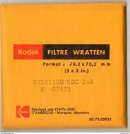 Filtre Wratten KODAK 76,2 X 76,2 Gelatine 80C 3X3 - Matériel & Accessoires