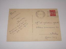 Oblitération Poste Aux Armées De 1965 Sur Carte De Tubingen Allemagne. - Poststempel (Briefe)
