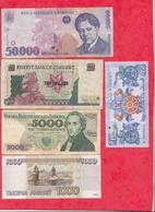 Pays Du Monde 10 Billets Dans L 'état Lot N °3 - Monnaies & Billets