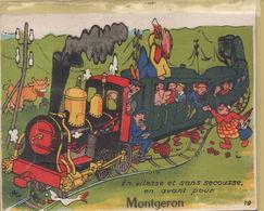 Montgeron : En Vitesse Et Sans Secousse, En Avant Pour Montgeron - Montgeron