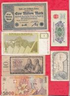 Pays Du Monde 10 Billets Dans L 'état Lot N °8 - Monnaies & Billets