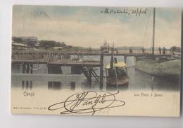 CONGO - 1906 - Les Piers à BOMA -  Colorisée - Animée - Belgian Congo - Other
