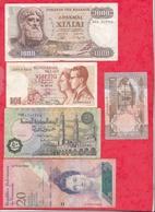 Pays Du Monde 10 Billets Dans L 'état Lot N °9 - Kilowaar - Bankbiljetten