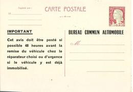 303 H 0,25 Marianne De Cocteau  Très Bel état - Entiers Postaux
