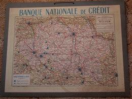 GRAND  CALENDRIER  43 X 54  --  Banque Nationale De Crédit De L'Allier - Calendriers