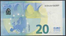 "EURO 20  ITALIA SE S021  ""42""  DRAGHI  UNC - EURO"