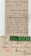VP13.613 - 1919 - Lettre De Mme L. DUBOIS à VILLENEUVE D'OLMES Pour Mr DUBOIS à BATHURST ( Gambie ) - Récit - Manuscrits