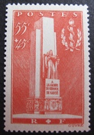 R1692/415 - 1938 - A LA GLOIRE DU SERVICE DE SANTE MILITAIRE - N°395 NEUF** - Cote : 25,00 € - Frankreich