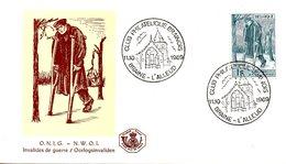 BELGIQUE. N°1510 De 1969 Sur Enveloppe 1er Jour. Invalide De Guerre. - Militaria