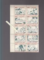 Morbihan -  Patronage De Guidel - Collection Complete Des 10 Vignettes Postales Joie Et Santé - Vieux Papiers