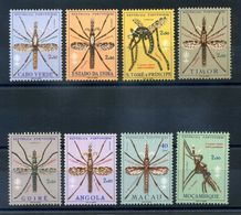 LOTTO PALUDISMO MNH ** SET COMPLETO - Timbres