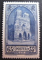 R1692/416 - 1938 - CATHEDRALE DE REIMS - N°399 NEUF* - Cote : 10,00 € - Frankreich