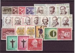 Berlin, Kpl. Jahrgang 1957/58** (T 8476) - Unused Stamps
