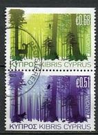 Europa CEPT Chypre - Cyprus - Zypern 2011 Y&T N°1219b Et 12220h - Michel N°1208Du Et 1209Do (o) - Se Tenant - Europa-CEPT